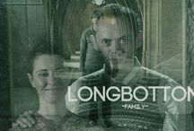 The Family Longbottom / Neville Longbottom, His Parents and Family