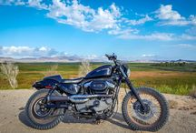 #SportsterScrambler / My Harley Scrambler and my Adventures. View more on my YouTube channel, www.YouTube.com/DanDanTheFireMan