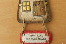 K 021 Keramik Häuser