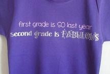 Second Grade t-shirts