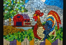 Stained Glass Mosaics / by Bonnie Parker