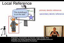 Discourse & Pragmatics