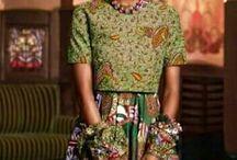 Funky Ank / African fabric print Ankara fashion edgy