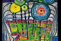 Friedrich Hundertwasser / by Charmine