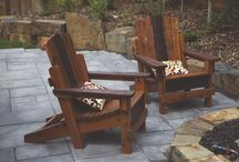Capt'n Crow Furniture / Locally milled old growth fir and cedar to make adirondack chairs, slab tables and chairs and a multitude of concrete counter-top options ready to be customized for your space.