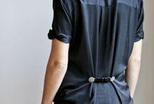 CINTRER / Cintrez vos vêtements avec un clipshirt. Pour les ajuster à votre taille et vous créer des vêtements sur-mesure.