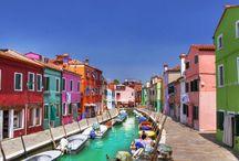 Città e bellissimi borghi d'Italia.Town and beautiful villages of Italy