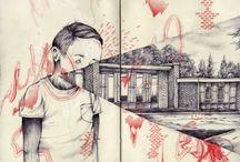Ilustraciones / Me gusta dibujar, aunque lo hago como el hoyo... pero igual