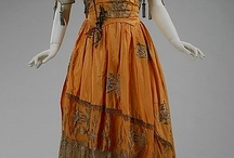 1907-1920 Edwardian fashion and WWI / Fashion, dresses, historical patterns, underdresses, hairstyle, shoes