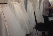 Behind the scenes / Behind the scenes at Deborah Jane Bridal boutique and on our buying travels