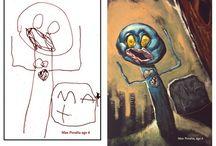 Child Imagination & Art