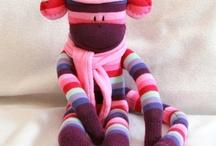 Sock Monkey Obsession / by Cheryl Trecartin