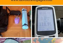 Bike Touring Gear / A complete bike touring gear checklist. Bicycle touring gear that I've personally tried, tested and used when bike touring around the world.