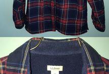 l.l bean flannels