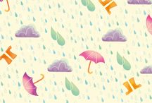 Today's weather... / Rain, sunshine, cloudy, fog or a good thunderstorm any weather is suitable for a fun pattern!