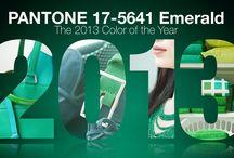 Spring 2013 Trend:  Emerald Green