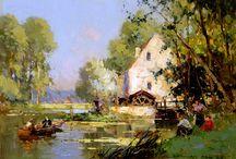 ART - Edouard Leon CORTES (1882-1969)