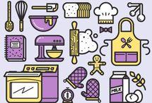many icons