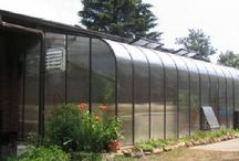 Attached Greenhouses / Gable End Attached Greenhouses are similar to Lean To Greenhouses. The only difference is the orientation of the roof line.