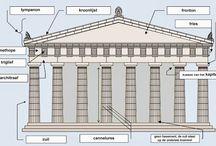 Theorie periode 1 / ftwijnstra@luzac.nl Klassieke Oudheid t/m Neoclassicisme (onderaan het bord beginnen!)