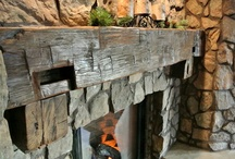 Fireplaces / by Penny Mixhau