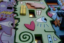 벽설치미술