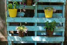 Idées jardin palettes