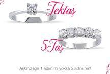 Tektaş _ 5 Taş _ Pırlanta _ Yüzük / 'aşkınız için 1 adım mı yoksa 5 adım mı? #tektaş #pırlanta #tektaspirlanta #5taş #mücevher #yüzük #zarif #şık #hediye #muhteşem #yeniyıl #indirim #aşk #aralık #evlilik #dugunfotografları #diamond #jewelery #marriage #wedding #love #forever #happy #newyear #bridal #glamorous #ring #event #like #thalespirlanta