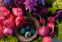 easter designs and wreaths