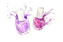 Nails illustration