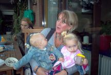10 jaar geleden, oma Ria met baby Anna en Britt❤️