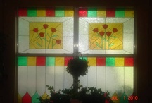 My faux stained glass projects / by Debby Denig Clower