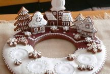 Advent en zoete kerst decoraties