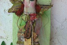 Textile Dolls and Soft Sculpture