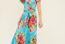 Floral Wrap Maxi