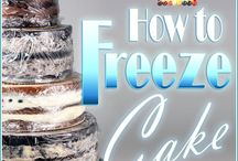 how to freeze cakes