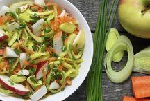 Entrées + salades froides