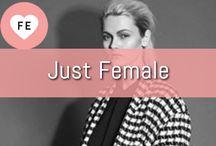 Fashion Brand Just Female ♥ / FE ♥ Just Female - Het design achter de fashion van Just Female is een combinatie van mooie lijnen met rauwe details die samen zorgen voor een uniek en edgy design. ♥ www.fashionexclusive.nl ♥