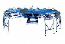 M&R CHALLENGER - лучшие автоматические карусели для печати на футболках и трикотажном крое / Фотографии лучших в мире автоматических карусельных станков для печати по футболкам, толстовкам, рабочей и повседневной одежде.