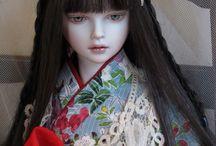 美しさ溢れる人形