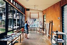 studio spaces / by Heather Gerni
