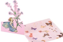 Ellie Carlisle Gifts / Fairy Themed Parties - Flower Fairies Melamine Plates, bowls and Glitter Beakers