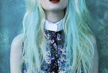 Pastel hair tones