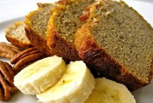 Organic banana nut bread