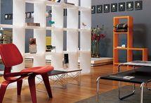 Bookshelve roomdividers