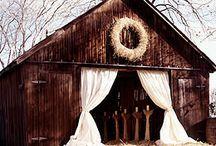 Barn Weddings. / Inspiration from Fête Nashville: www.fetenashville.com / by Fête Nashville {Sara Fried}
