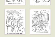 Bible Coloring Pages - R.E. / by Loretta Hornyak