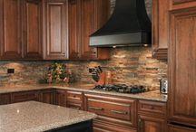 Kitchen remodeling / by Sharon Fortner