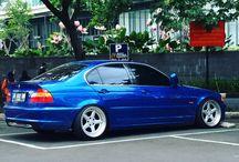 Udjang- Bmw e46 Blue