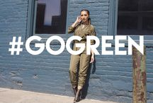 #GoGreen / Sexy Fits In Shades Of Green!